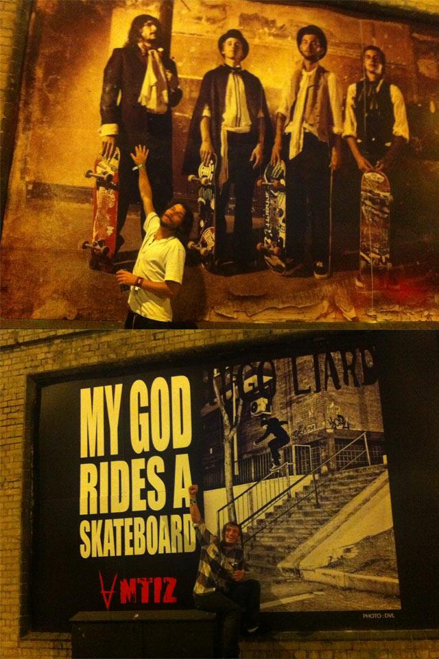 Poster Antiz en Londres