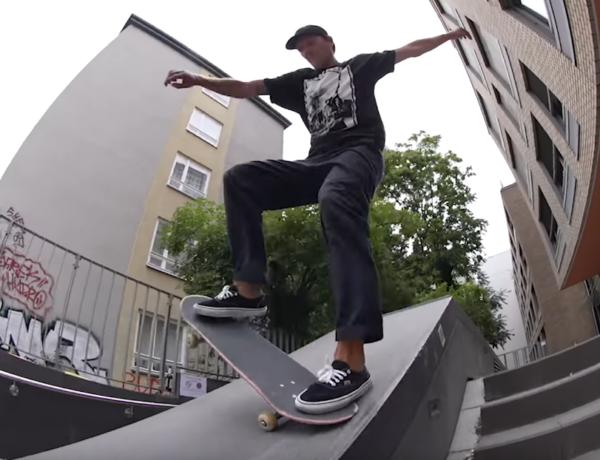 Hirschi in the last Independent Trucks Berlin Tour Video